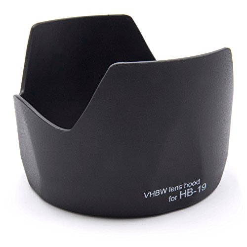 vhbw Parasol para Objetivo para cámara Nikon AF-S NIKKOR 28-70mm 1:2,8 ED y 28-70mm f/2,8 ED-IF AF-S NIKKOR por HB-19