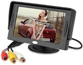 BW 4.3 pulgadas TFT-LCD Car Rearview monitor coche DVD con pantalla de tamaño de bolsillo de color LCD, mini monitor de coche de LCD para coche / automóvil y cámaras de seguridad del vehículo