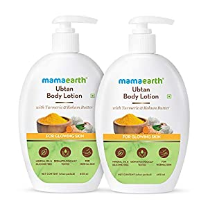 Mamaearth Ubtan Body Lotion - Pack of 2 (400 ml * 2)