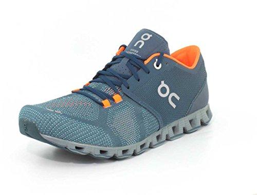 On CLOUDFLOW, Zapatillas masculinas para correr y caminar, Moss/Line, nº. 41, color Turquesa, talla 42.5 EU