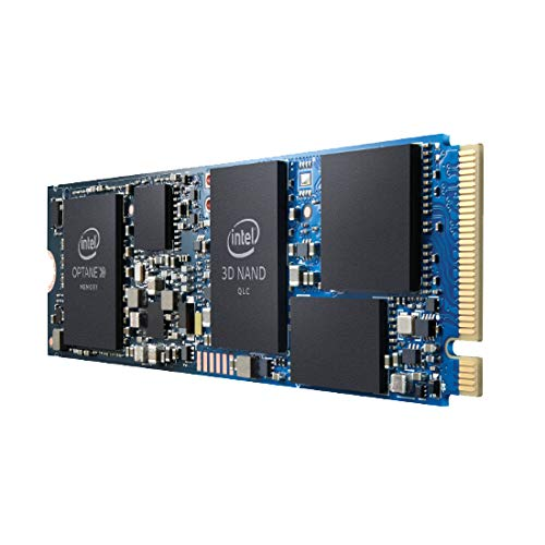 Intel Optane H10 Solid State Drive (SSD) M.2 512 GB PCI Express 3.0 3D XPoint + QLC 3D NAND NVMe - Interne Solid State Drives (SSD) (512 GB, M.2)
