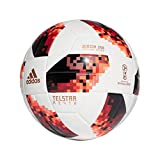 adidas World Cup Knock Out J350 Ballon de Football pour Homme 5 White/Solar Red/Black