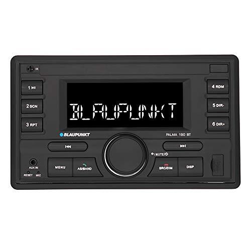 Blaupunkt Palma 190 | 2-DIN, Bluetooth-Freisprecheinrichtung, USB, AUX, Kurze Einbautiefe