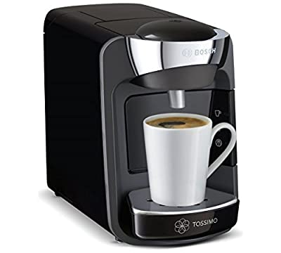 TassimO by Suny T32 Drinks BoscH HoT MachinE - Black.