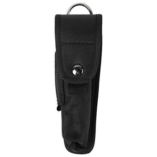 Cabilock Taschenlampen-Tasche, Holster, Tragetasche, Halter, Nylon, Taschenlampenschutz, Aufbewahrungstasche