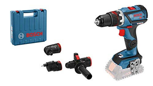Bosch Professional 06019G7105 GSR 18V-60 FC (losse accu, 18 V, max. Koppel: 60 Nm, in koffer)