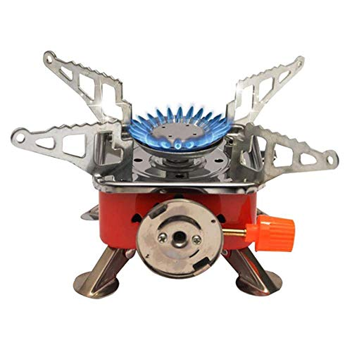 MD'S Home Picnic Gas Stove Burner Portable Mini Windproof Propane Cooker