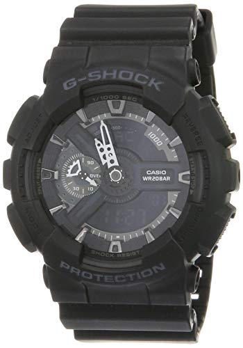 Casio G-Shock Ana-digi World Time Black Dial Men's watch #GA110-1B