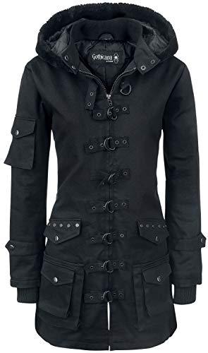 Gothicana by EMP Bloodsucker Frauen Parka schwarz 3XL 100% Baumwolle Basics, Everyday Goth, Gothic