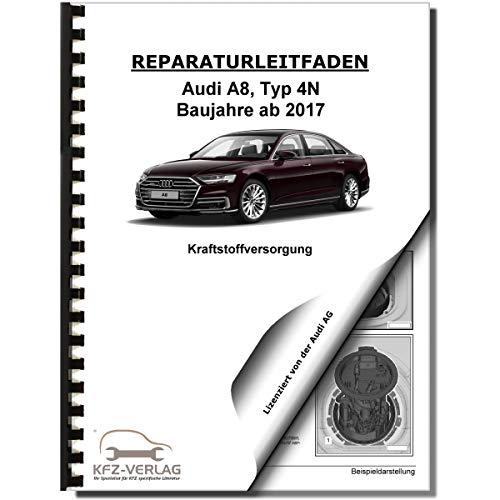 Audi A8 Typ 4N ab 2017 Kraftstoffversorgung Aufbereitung Reparaturanleitung
