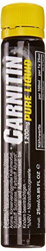 All Stars Carnitin Pure Liquid - 18 x 25 ml Ampulle, Kirsch, 1er Pack (1 x 450 ml)