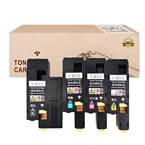 Suitable for Toner Cartridges Replacement for DELL 1250C 331-0777 331-0778331-0779 331-0780 Toner Cartridges for DELL 1250C 1350CNW 1355CN 1355CNW Toner Cartridges,4 Colors