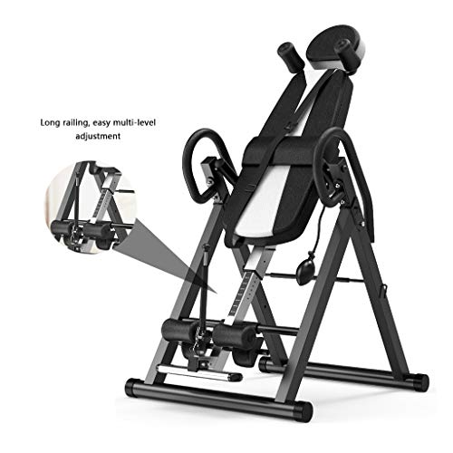 Lowest Prices! Gravity Reversal Trainer Backrest Trainer Indoor Stretching Training Foldable Inverte...