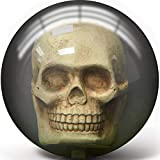 Pyramid Clear Skull Bowling Ball (15)