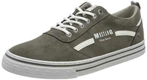 MUSTANG Herren 4147-305 Sneaker, grau, 44 EU