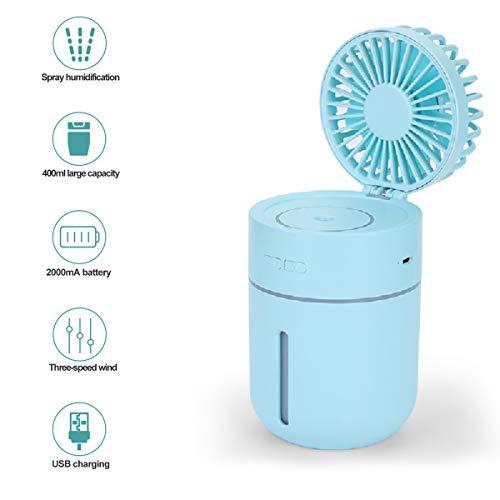 Vivi Bear Mini humidificador Ventilador atomización