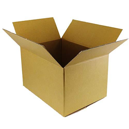 ボックスタウン ダンボール(段ボール箱)100サイズ10枚入り 【38×27×高さ29�p】引越し・配送・保管用DB-10002C (10) 強化材質