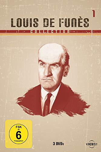Louis de Funès Collection 1 (Die große Sause / Fünf Glückspilze / Quietsch... quietsch... wer bohrt denn da nach Öl) [3 DVDs]