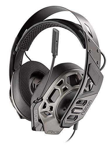 Plantronics 500 Pro HS Casque Audio Binaural Bandeau Gris - Casques Audio (Console de Jeux, Binaural, Bandeau, Gris, PS4, avec Fil)