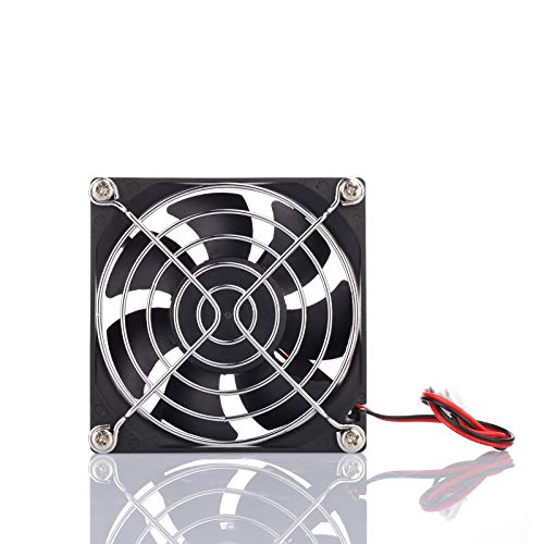 80mm x 25mm 12V 4500RPM Standard Computer Case Cooler Cooling Fan, for DIY Cooling Ventilation Exhaust Projects