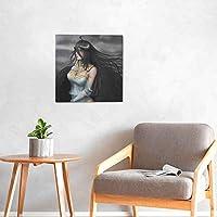 アートパネルオーバーロード アルベド7 モダンポスター フレームレス インテリア 絵画 壁掛け 部屋飾りおしゃれ 装飾 印刷絵画 額縁なし 壁紙 ポスター モダン