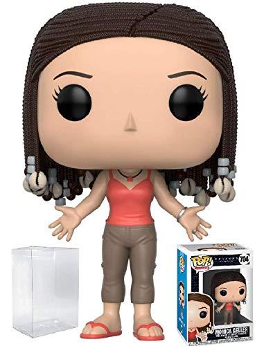Funko Pop! TV: Friends - Figura de vinilo de Monica Geller (con funda protectora de caja de pop)