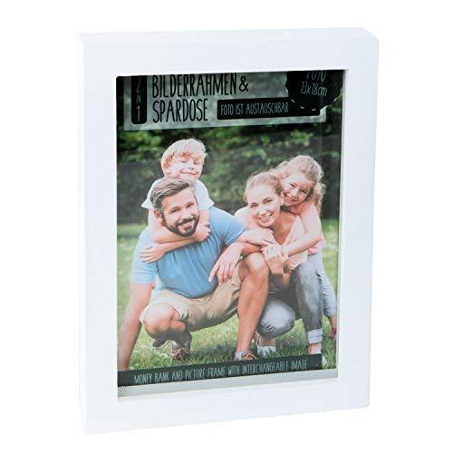Roomando spaarpot DIY fotolijst hout met diverse motieven Spaarpot