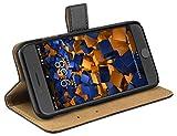 mumbi Tasche Bookstyle Case kompatibel mit Huawei Mate 9 Hülle Handytasche Case Wallet, braun