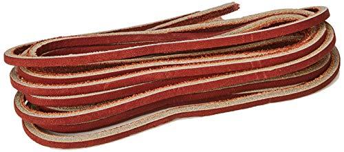 Timberland Rawhide52-inch Unisex-Erwachsene Schnürsenkel, Rot (Cordovan), Einheitsgröße (132 cm)