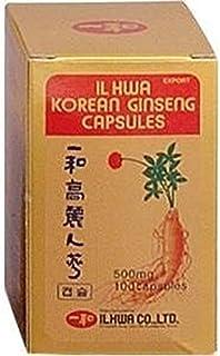 comprar comparacion Ginseng Il Hwa Tarro 100 cápsulas de Tongil