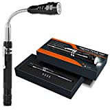 Magnetic Pickup Tool Telescoping LED,Fathers Day Gifts for Dad, Gadget for Men,Gifts for Men,Magnetic Flashlight Telescoping,Extending Magnet Cool Tool for Men,A Must for Hard to Reach Place, 1Pack