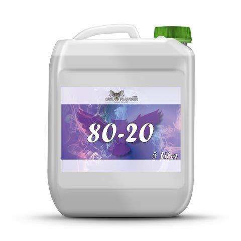 OWL deutsche Base für E-Liquid 5 L 80/20 VG/PG Nikotinfrei!