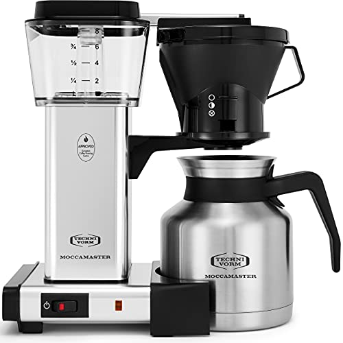 Technivorm Moccamaster 79212 KBTS Coffee Brewer,...