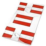 Bufanda unisex grande para deportes al aire libre de la bandera austríaca diademas bandana máscara cuello polaina cabeza abrigo sudaderas 9,8 x 49,5 cm