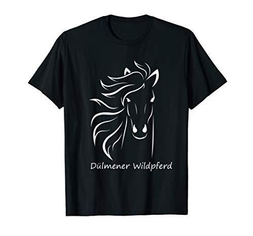 Dülmener Wildpferd Wildpferdefang Pferdefreund Pferde Pony T-Shirt