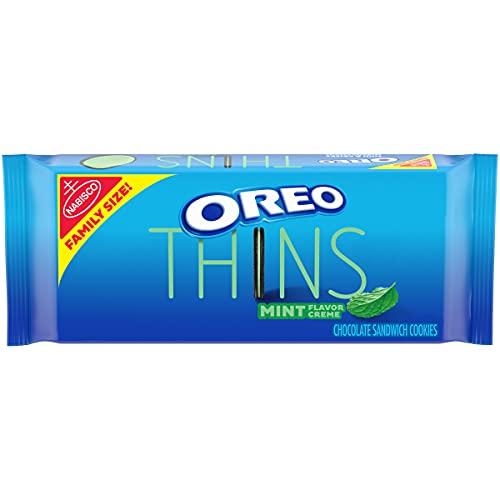 Oreo Thins Mint Creme Cookies Family Size - 13.1oz