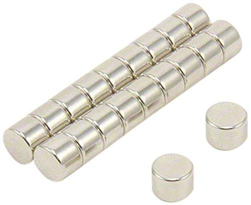 4 unidades first4magnets F215-4 15 mm di/ámetro x 5 mm con texto en ingl/és N42 im/án de neodimio con 5,4 kg tirador