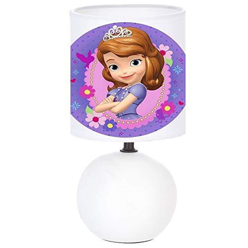 Lampe de chevet SOFIA PRINCESSE création artisanale Personnalisé avec le prénom de l'enfant N° 1
