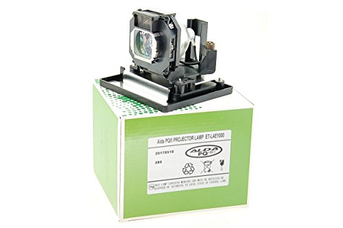 Alda PQ-Premium, Beamerlampe / Ersatzlampe für PANASONIC PT-AE2000 Projektoren, Lampe mit Gehäuse