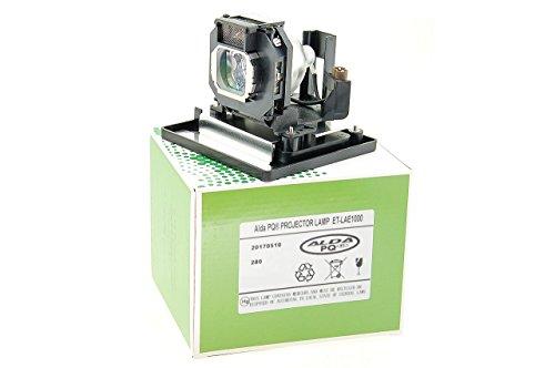 Alda PQ-Premium, Beamerlampe / Ersatzlampe für PANASONIC PT-AE2000E Projektoren, Lampe mit Gehäuse