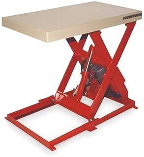 Scissor Lift Table 1500 lb. 115V 1 Phase