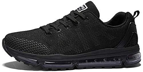Axcone Damen Herren Sneaker Laufschuhe Air Sportschuhe Turnschuhe Running Fitness Sneaker Outdoors Straßenlaufschuhe Sports - BK 42EU