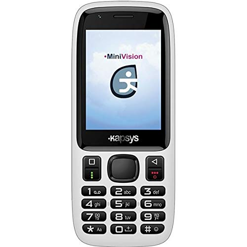 MiniVision Lite telefono parlante semplificato adatto ad anziani, non vedenti e ipovedenti