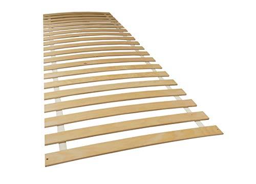 Helo Rolllattenrost gebogenes Lattenrost Rollrost Holzlatten Bettrost Latten Spezial (70 x 200 cm S1)