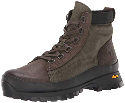 Frye Herren Korver Utility Boot Backpacking, Grn (Olive Multi), 43 EU