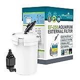 Best Aquarium Canister Filters - All Pond Solutions EF-250 Aquarium External Fish Tank Review