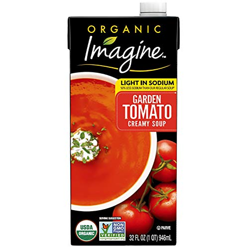 Imagine Organic Creamy Soup, Light Sodium Garden Tomato, 32 oz.