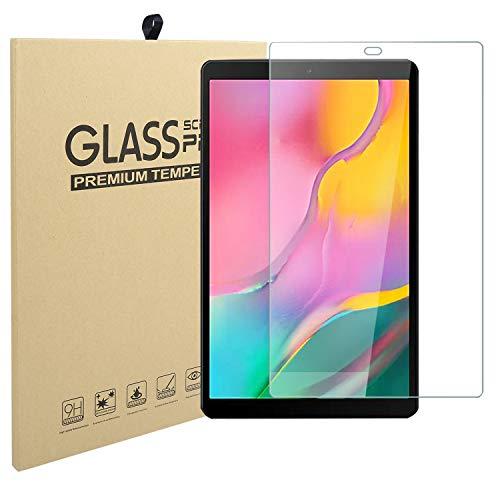 LEADSTAR Templado Protector Pantalla para Samsung Galaxy Tab A 10.1 T510/ T515 2019, Anti-arañazos, 9H Dureza, Alta Definición Cristal Templado para SM-T510 / SM-T515