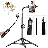 Pixel 20inch Phone Tripod for iPhone Cell Phone Stand Video Recording, Vlogging/Streaming/Photography, Smartphone Tripod Stand, Sturdy and Lightweight Stand