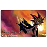 Yami Sunset King of Games – Juego de mesa Yugioh Juego de mesa Tamaño 60 x 35 cm Mousepad MTG alfombra de juego para Yu-Gi-Oh! Pokemon Magic The Gathering